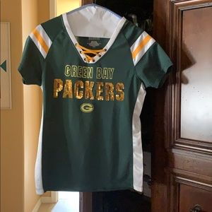 Ladies Green Bay Packers Jersey